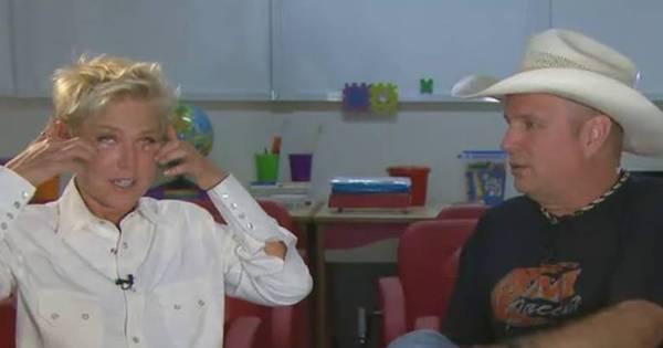Garth Brooks arranca lágrimas de Xuxa e promete parceria com a ...