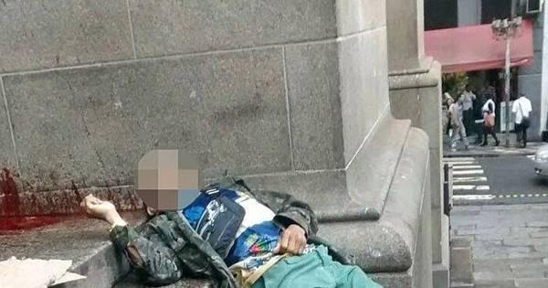 Tentativa de assalto termina com dois mortos na praça da Sé ...