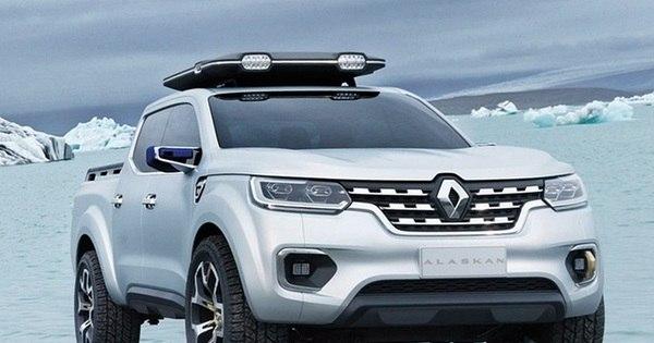 Renault Alaskan: conceito antecipa futura picape média que será ...