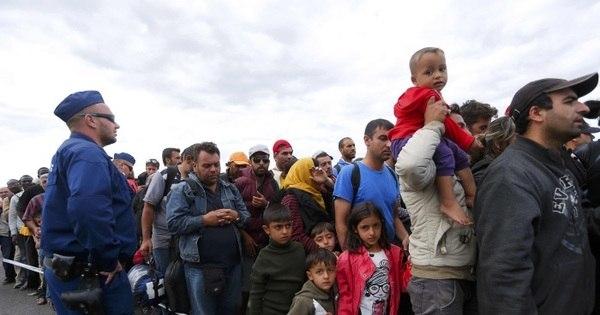 Plano da União Europeia prevê distribuição de 70 mil imigrantes ...
