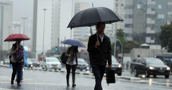 Chuva deixa SP em estado de atenção para enchentes - Notícias ...