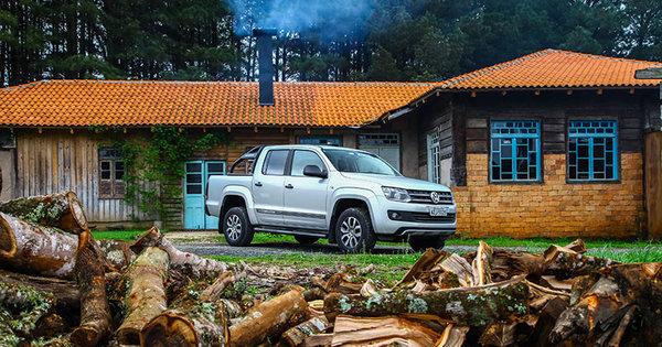 Teste: VW Amarok Dark Label impressiona no off- road - Notícias ...