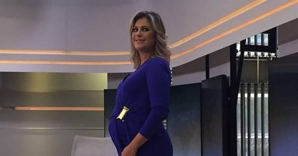 Jornalista Flávia Freire dá à luz seu primeiro filho - Entretenimento ...