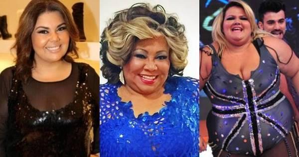 O mundo é das gordinhas! Conheça as famosas que ostentam ...
