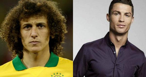 David Luiz com novo visual e Cristiano Ronaldo cercado de gatas ...