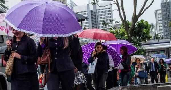 Frente fria deixa fim de semana chuvoso na Grande SP - Notícias ...