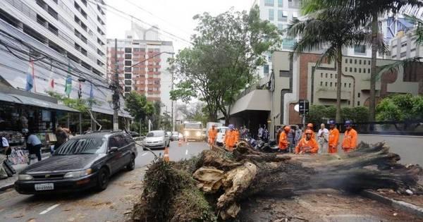 Chuva deixa São Paulo em estado de atenção para enchentes ...