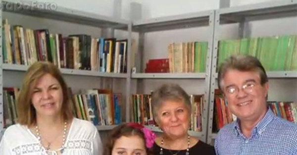 Aos 10 anos, menina leu mais de 500 livros e montou biblioteca ...