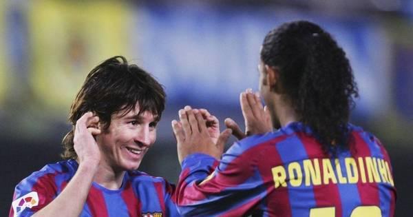 Com números impressionantes, Messi completa hoje cem jogos na ...