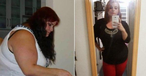 """Mulher elimina 80 kg após comentário cruel do ex- namorado: """"Ele ..."""
