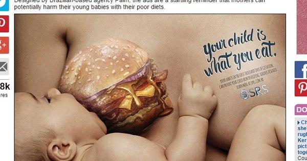 Projeto cria imagens chocantes para alertar mães sobre os perigos ...