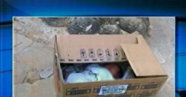Mãe que abandonou recém-nascido em caixa diz que estava dopada