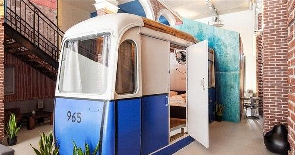 Hotel bizarro faz sucesso com turistas na Holanda - Fotos - R7 ...