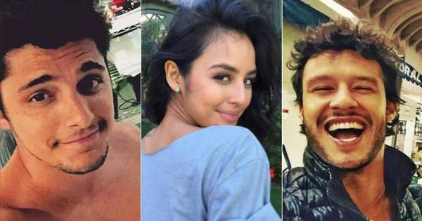 Bruno Gissoni se irrita ao ver ex- namorada beijando outro ator, diz ...