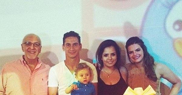 Paulo Henrique Ganso comemora aniversário de um ano do filho ...