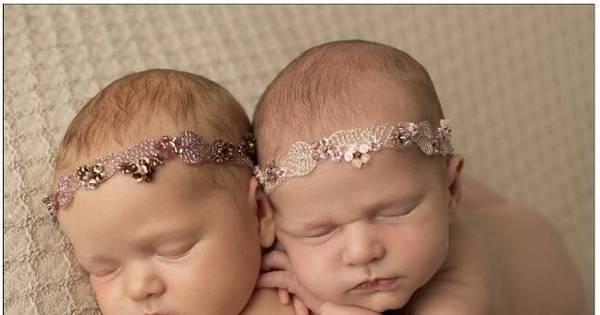 Fofura! Fotógrafo faz ensaio apaixonante com gêmeas recém ...