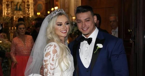 Casamento de Juju Salimeni e Felipe Franco tem convidados ...