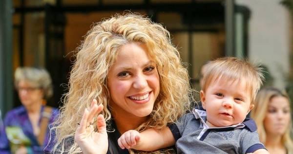 Ai que fofura! Filho caçula de Shakira rouba a cena em passeio com ...