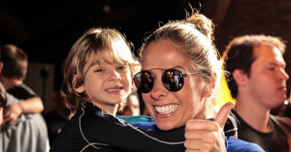 Sheila Mello, Wanessa e Galisteu levam filhos em pré-estreia de ...