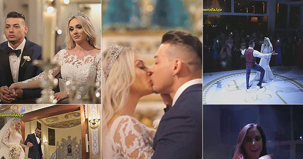 Exclusivo: Legendários entra no casamento de Juju Salimeni e ...