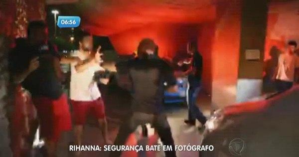 Seguranças de Rihanna agridem fotógrafos em churrascaria - Fotos ...