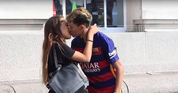 Falso Neymar faz sucesso nas ruas de Londres e beija diversas ...
