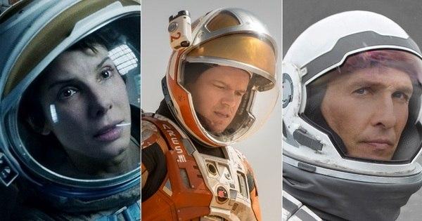 Perdido em Marte é o Gravidade de 2015? Veja quais filmes ...