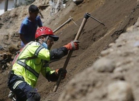 Deslizamento de terra na Guatemala mata dezenas