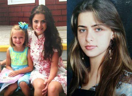 Fotos comprovam que Rayanne<br />Morais é linda desde pequena