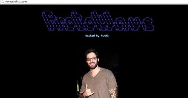 Hacker coloca foto de Rafinha Bastos em site de Wanessa Camargo ...