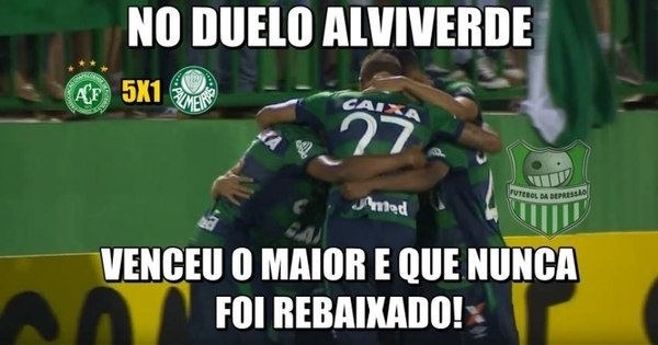 Goleada da Chapecoense sobre o Palmeiras inspira memes - Fotos ...