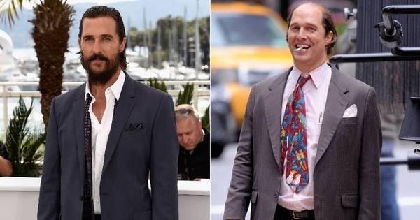Vencedor do Oscar, Matthew McConaughey surge irreconhecível ...
