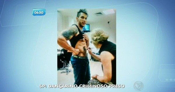 Dançarino de programas de televisão é preso por roubo - Notícias ...