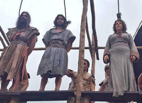 Castigo! Ramsés manda enforcar Joquebede, Zelofeade e Eleazar