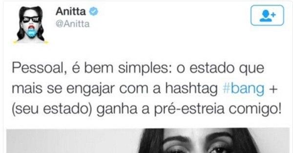 """Anitta defende o Acre em discussão com blogueiro: """"Conheça ..."""