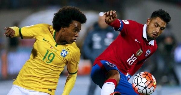 """Para Willian, 1 a 0 em jogo contra a Venezuela é """"placar bom ..."""