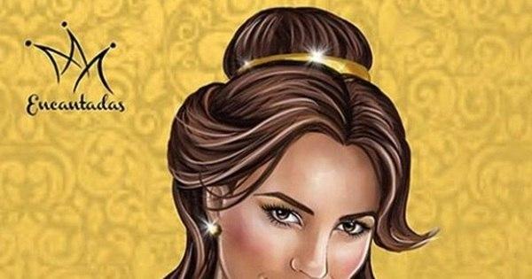 Que lindo! Artista brasileiro transforma famosas em princesas da ...