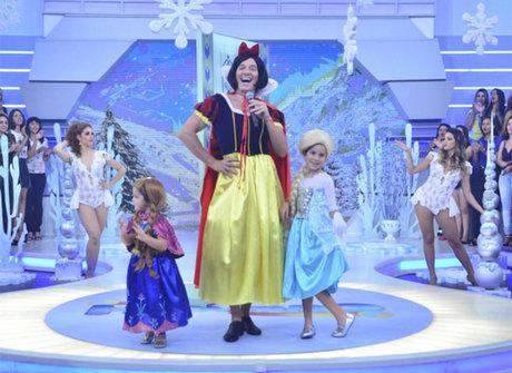 Fofura! Filhas de apresentador viram personagens de <em>Frozen</em>