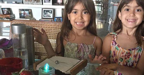 Gêmeas de Giovanna Antonelli completam cinco anos; veja as fotos ...