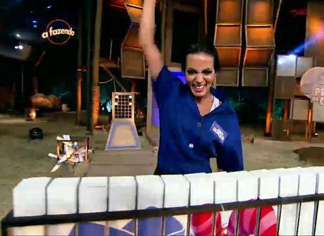 Carla vence prova e manda Thiago, Quelynah e Ana Paula para a baia