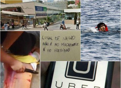 Policial que arrancou tatuagem<br />de rapaz com facão foi destaque