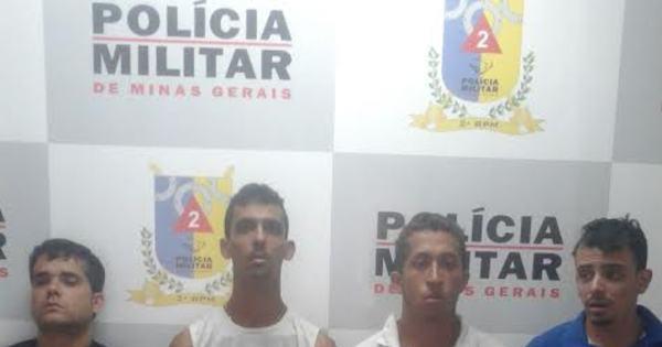 Quarteto é preso com carga de pneus roubada em Contagem (MG ...