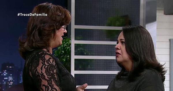 Reencontro no Troca de Família: Luciana se emociona ao saber da ...