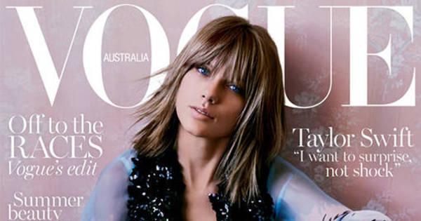 Novo visual? Taylor Swift posa com cabelo castanho na capa da ...