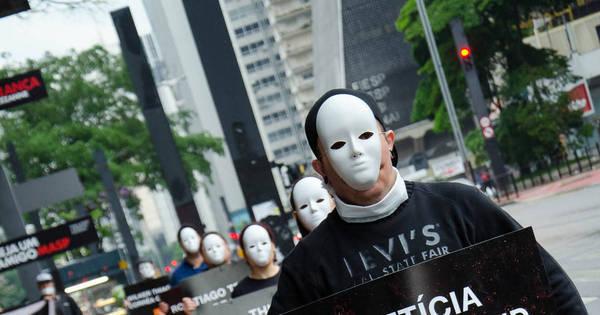 Grupo protesta contra chacina de Osasco e Barueri - Notícias - R7 ...