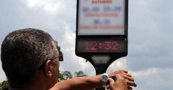 Horário de Verão começa no próximo domingo em três regiões do ...