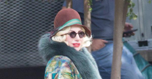 Mãe Monstro! Lady Gaga aparece com barrigão de grávida nas ...