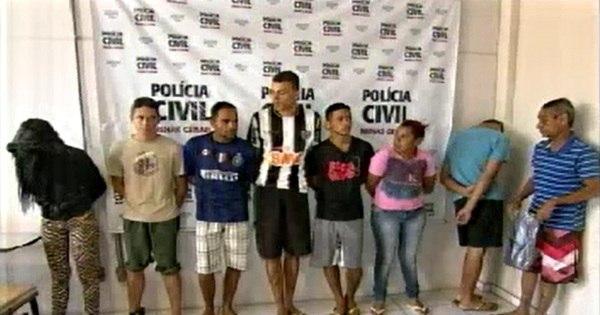 """Integrantes da """"Família Metralha"""" são presos por tráfico de drogas ..."""