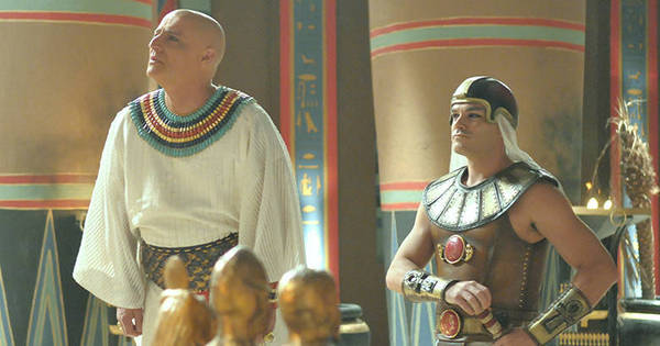 Paser enfrenta Ramsés e é duramente ameaçado pelo rei - Fotos ...