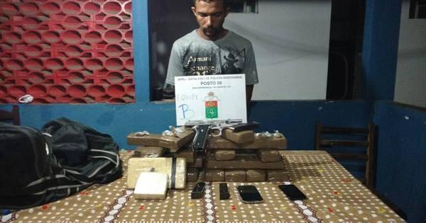 Polícia Rodoviária prende suspeitos com 13, 5 kg de maconha na ...